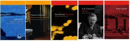 Editorial Acantilado: G.K. Chesterton, Stefan Zweig, Imre Kertész, y más.