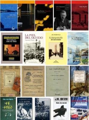 Escaparate (1): últimos libros aparecidos en este blog.