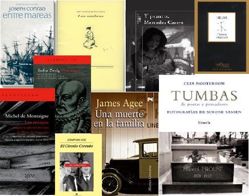 Escaparate (4): últimos libros aparecidos en este blog.