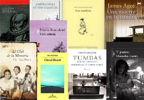 Escaparate (5): últimos libros aparecidos en este blog.