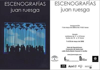 Escenografías. Juan Ruesga